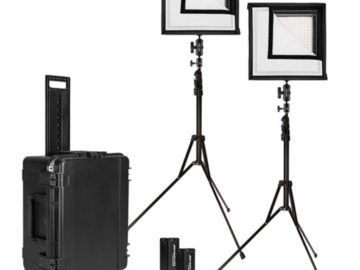Rent: Westcott Flex Bi-Color LED Mat 2-Light Cine Travel Kit