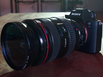 Rent: Sony Alpha a7S II w/Metabones, Lens, Card & Batteries