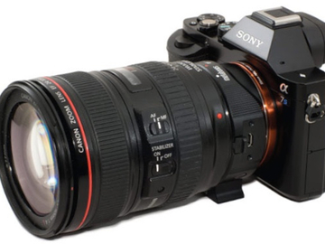 Rent: Sony Alpha a7S w/Sigma MC-11 adaptor, Lens, Card & batteries