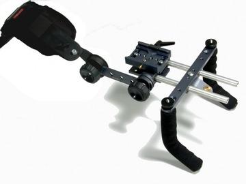 DSLR Shoulder Mount Rig w/shock absorbing support system