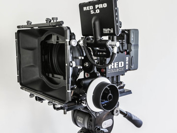 Rent: Red EPIC Dragon with Base Plate, Matte Box, Follow Focus