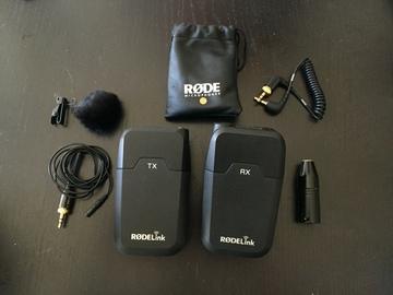 Rent: Rode RodeLink Wireless Filmmaker Kit