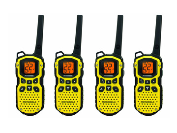 Rent: Motorola MS350R Waterproof Walkies (4 pack) w/ Headsets