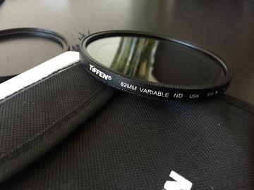 Rent: Tiffen 77mm or 82mm Variable Neutral Density Filter
