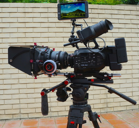 Sony FS7 4K camera package with Odyssey 7Q+ recorder