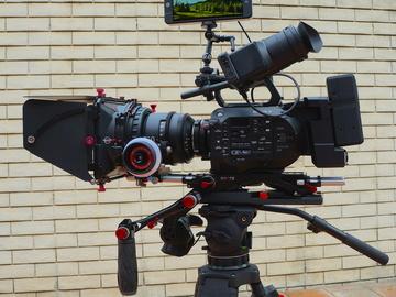 Rent: Sony FS7 4K camera package with Sony Cinealta 2nd gen primes