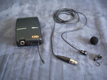 Rent: Wireless Lav Body Mic System with EXTRAS