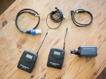 Rent: Sennheiser ew 100 ENG G2 Wireless Kit + SKP500 PHANTOM