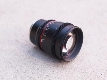 Rent: Rokinon Cine 85mm T1.5 for Sony E Mount