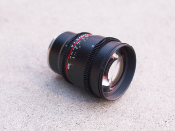Rent: Rokinon Cine 85mm T1.5 for Sony E Mount