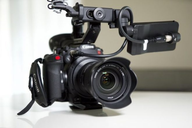 Canon C200 x4 256GB cards and Sigma 18-35mm