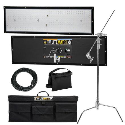 LiteMat 2 Hybrid 2L S2 LED Light (w/ Stand, 50' Stinger)  FA