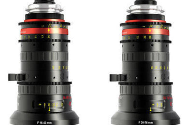 Angenieux Optimo Style 30-76mm AND 16-40mm t2.8 Zoom Lenses
