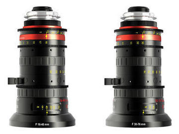 Rent: Angenieux Optimo Style 30-76mm AND 16-40mm t2.8 Zoom Lenses