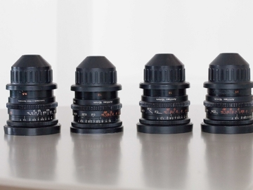 Rent: Zeiss Super Speed's Mark 2 (18mm, 35mm, 50mm, and 85mm)