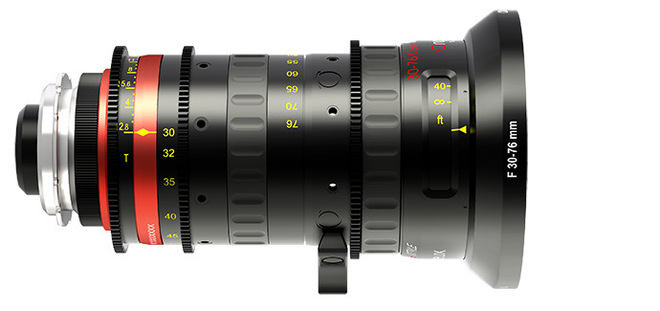 30-76 Angenieux Optimo Style 30-76mm t2.8 Zoom Lens