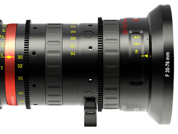 Rent: 30-76 Angenieux Optimo Style 30-76mm t2.8 Zoom Lens