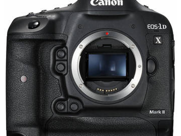 Canon EOS-1D X Mark II w/ 2 Batteries