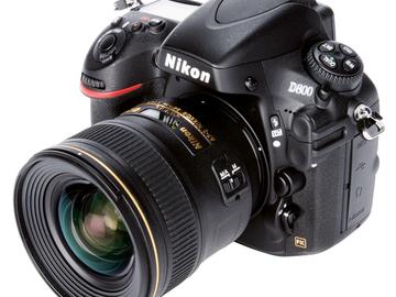 Rent: Nikon 800e Kit