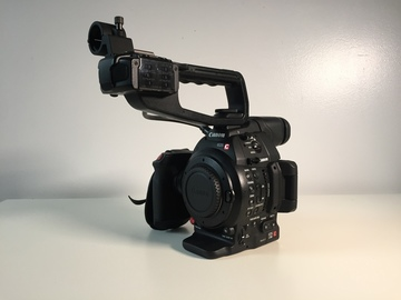 Rent: Canon  C100 Mark II Cinema Camera w 2 battery packs, SD card