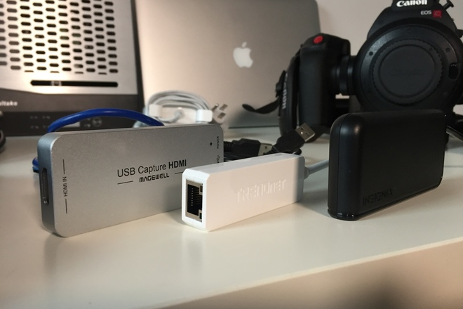Rent a Canon C100 Live Streaming Kit w OBS loaded MacBook, Best Prices |  ShareGrid New York
