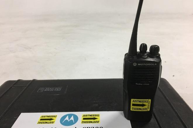 Rent a 10 Motorola CP200 16 Channel Walkie Talkies Radios