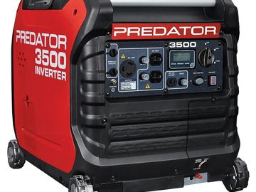 Rent: Predator 3500W (1/2)