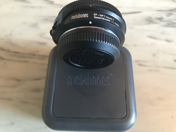 Metabones Speed Booster XL 0.64x Adapter for Full-Frame Cano
