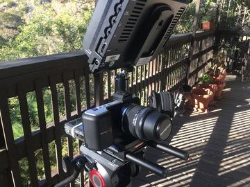 Rent: Blackmagic Pocket Cinema Camera PRODUCTION PACKAGE