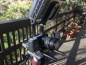 Rent: Blackmagic Pocket Cinema Camera PRODUCTION PACKAGE