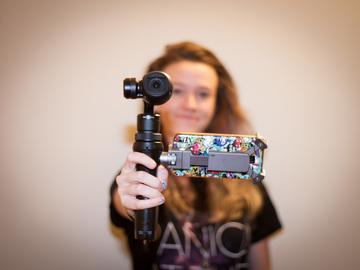 Rent: DJI Osmo + 4k Gimbal Camera