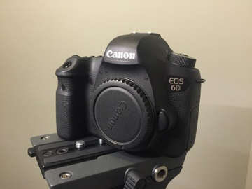 Rent: Canon EOS 6D DSLR Camera (Body Only with battery)