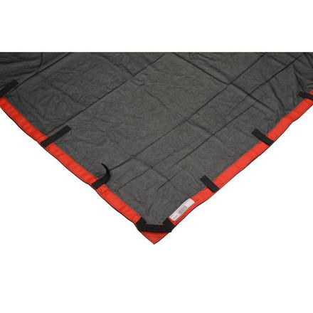 "Matthews RoadFlag Fabric, Double Black - 48x48"""