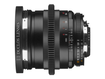 Rent: ZF 25mm F2.0 Duclos Cine-mod with 80mm lens hood