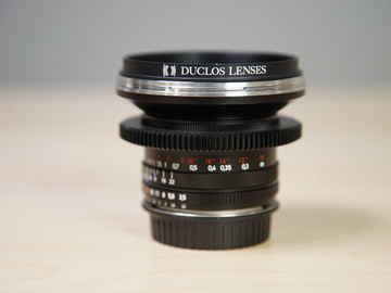 Rent: ZF 18mm F 3.5 EF mount Duclos Mod Lens