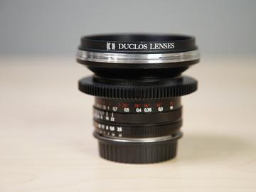 Rent: ZF 18mm F 3.5 EF mount Duclos Mod Lens