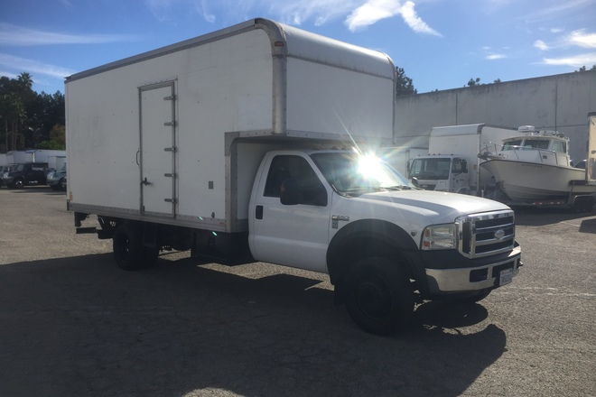 Cube Truck Ford F550