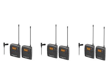 Rent: 3 Wireless LAV Sennheiser EW 112P G3 Microphone