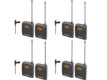 Rent: 4 LAV Sennheiser EW 112 G3  microphone