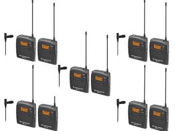 Rent: 5 Sennheiser ew 112-p ENG G3 Wireless Kit