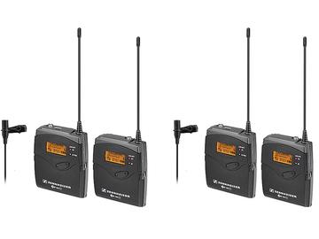 Rent: 2 LAV Sennheiser EW 112 G3 Wireless Microphone