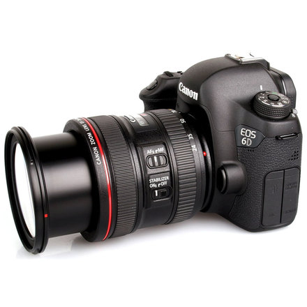 Canon EOS 6D with 24-70mm L series lens