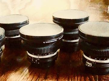 Rent: Nikon Vintage  Cine Mod 6 Lens Set