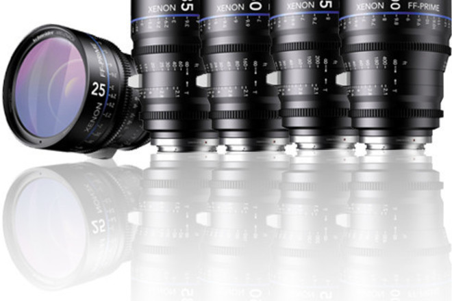 Schneider Xenon FF Lens Set (EF Mount)
