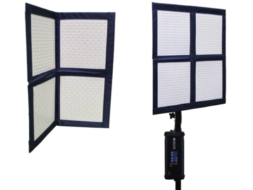 Rent: LC-160 - 2X2 Flex LED light-mat w Softbox #2