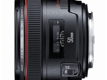 Rent: Canon EF 50mm f/1.2 L USM