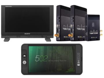 Rent: Monitor Package / Sony PVMA170 / SmallHD 502 / Teredek 300