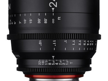 Rent: Rokinon Xeen 24mm T1.5 (EF Mount)