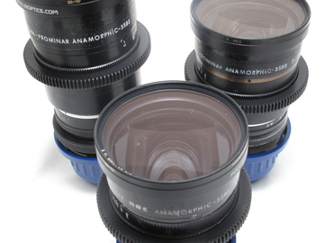 Rent: Kowa Anamorphic 3 lens set