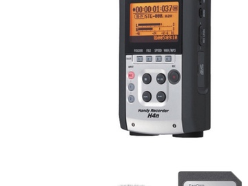 Rent: Zoom H4n  4-Channel Recorder